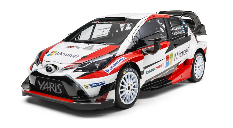 На фото: Toyota Yaris WRC