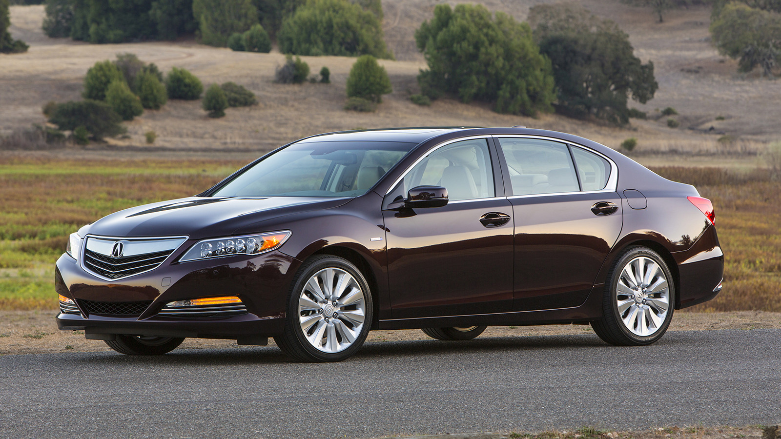Acura RLX Sport Hybrid почти не нашёл себе конкурентов