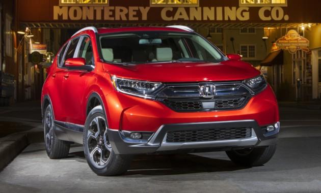 Honda раскрыла стоимость нового кроссовера CR-V