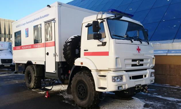 В столице России презентовали фургон скорой помощи от«Камаза»