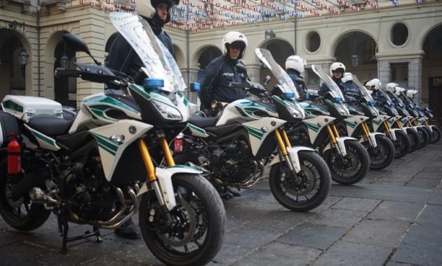 Полиция Турина будет ездить на Yamaha Tracer 900