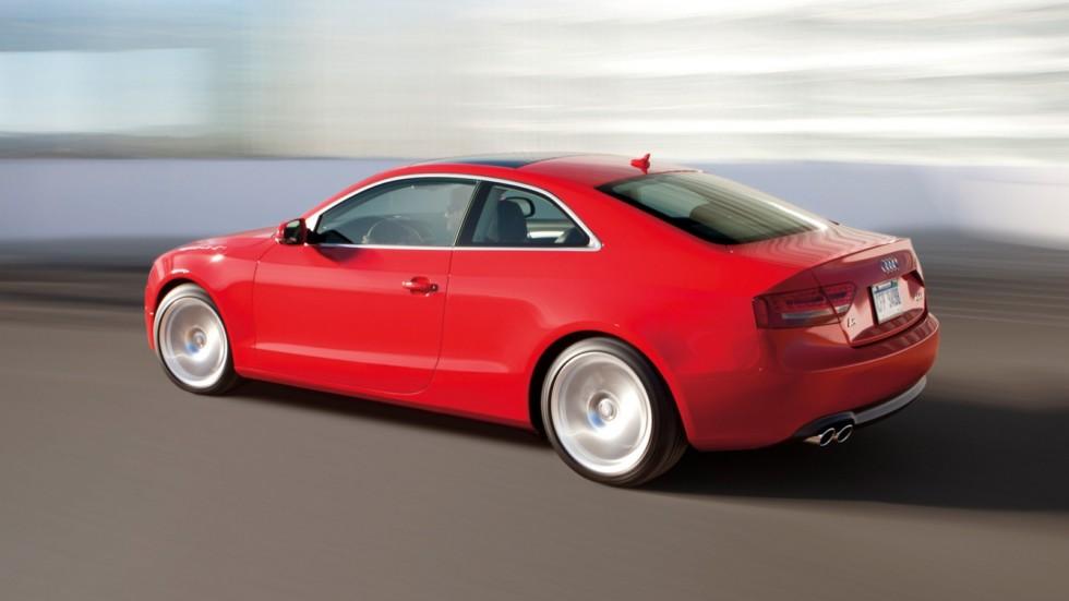 На фото: Audi A5 2.0T Coupé '2007–11