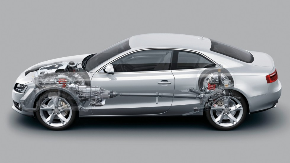 Audi A5/Technik