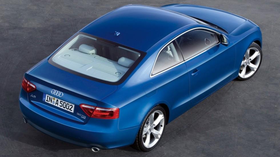 На фото: Audi A5 3.0 TDI quattro Coupé '2007–11