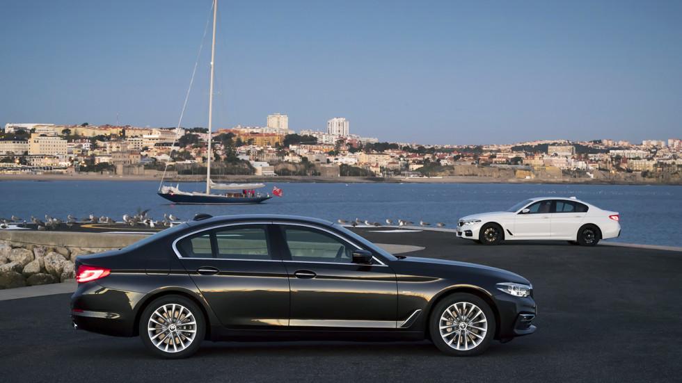 BMW 530d xDrive und BMW 540i sDrive