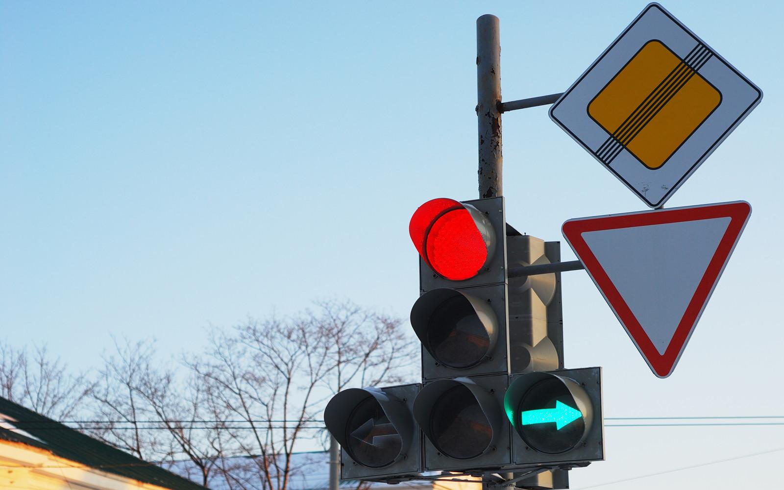 В РФ могут уменьшить размер уличных знаков