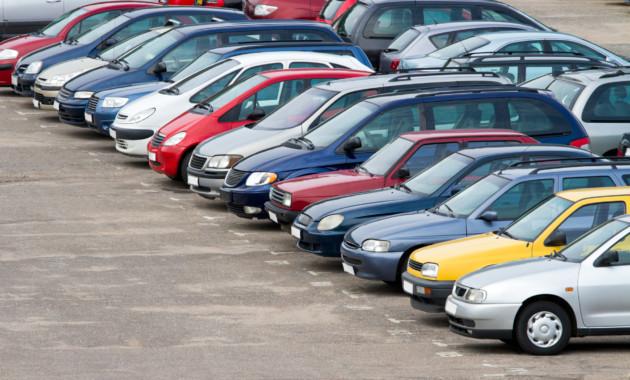 Рынок легковых авто спробегом пофедеральным округам