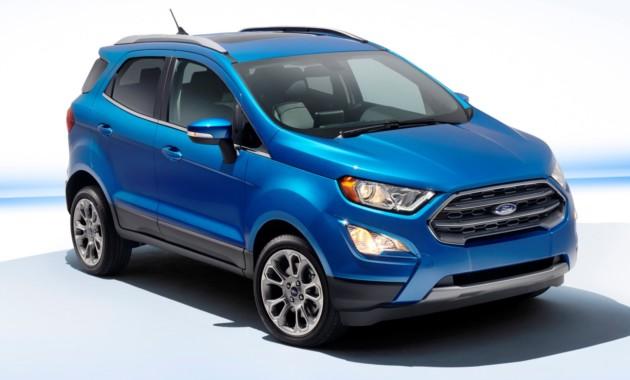 Форд отзывает в РФ 1,3 тыс. авто EcoSport