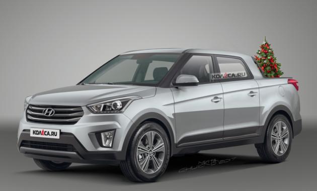 Пикап Hyundai Creta: каким он может быть