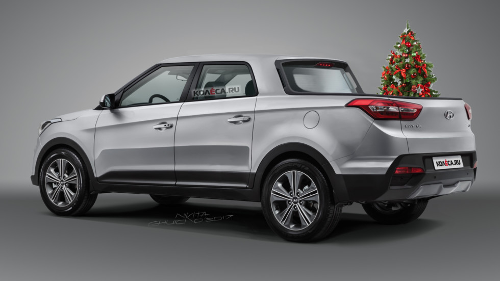 Hyundai Creta Pickup rear