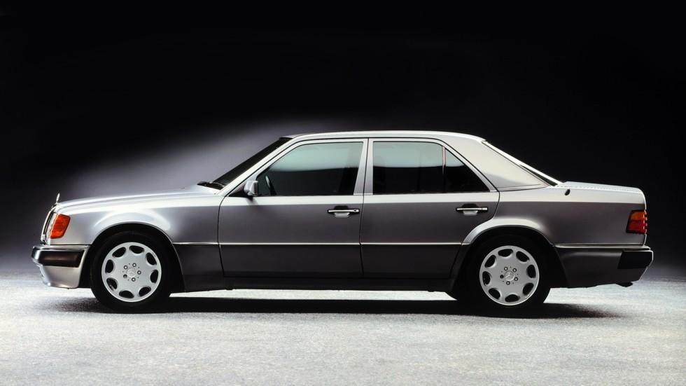 На фото: Mercedes-Benz 500 E (W124) '1990–1993