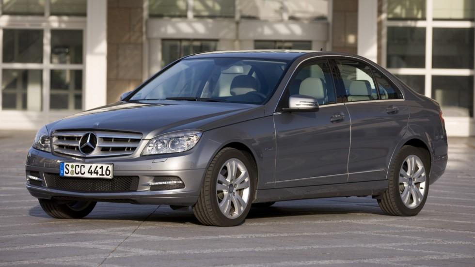 На фото: Mercedes-Benz (W204) '2010–11