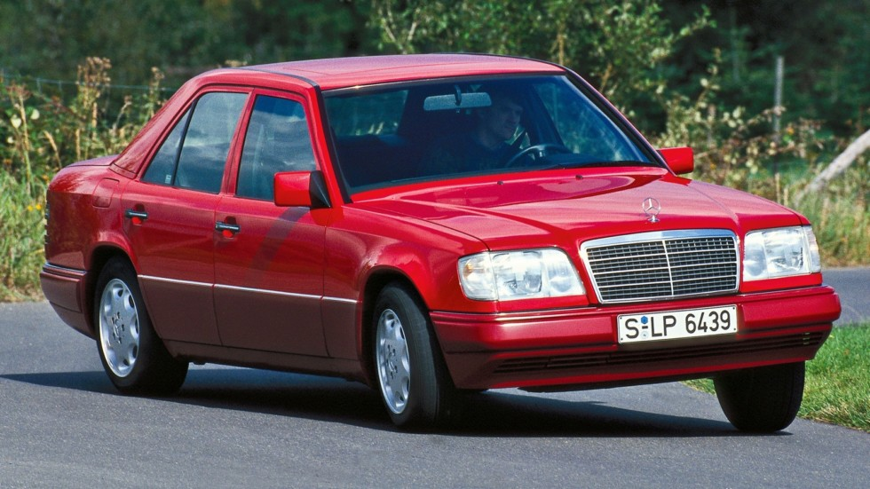 На фото: Mercedes-Benz E 280 (W124) '1993–1995
