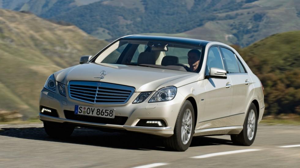На фото: Mercedes-Benz (W212) '2009–12