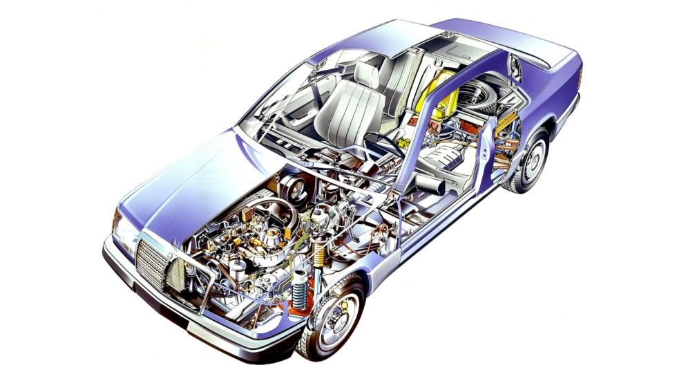 Mercedes-Benz E-Klasse Coupe (Br.C124) '1987–93ы