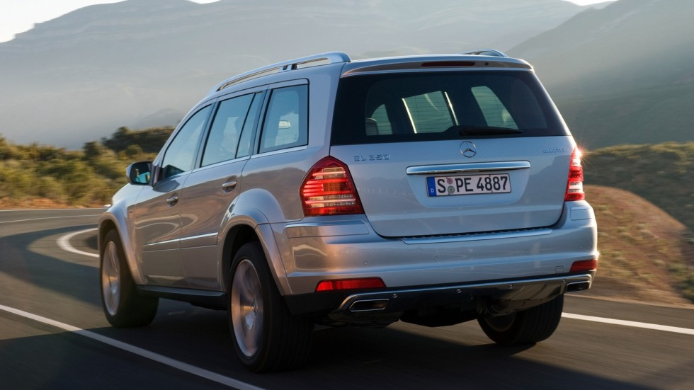 На фото: Mercedes-Benz GL 350 BlueTec (X164) '2009–12