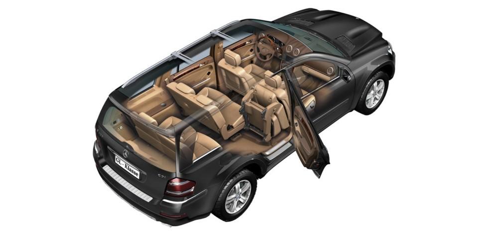 На фото: Mercedes-Benz GL 420 CDI (X164) '2006–09х