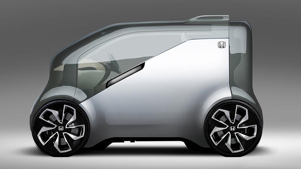 Хонда разработала концептуальный автомобиль NeuV