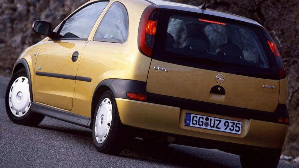 Opel Corsa 3-door (C) '2000–03з