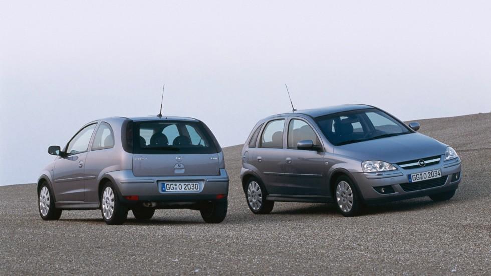 На фото: Opel Corsa (C) '2000–06