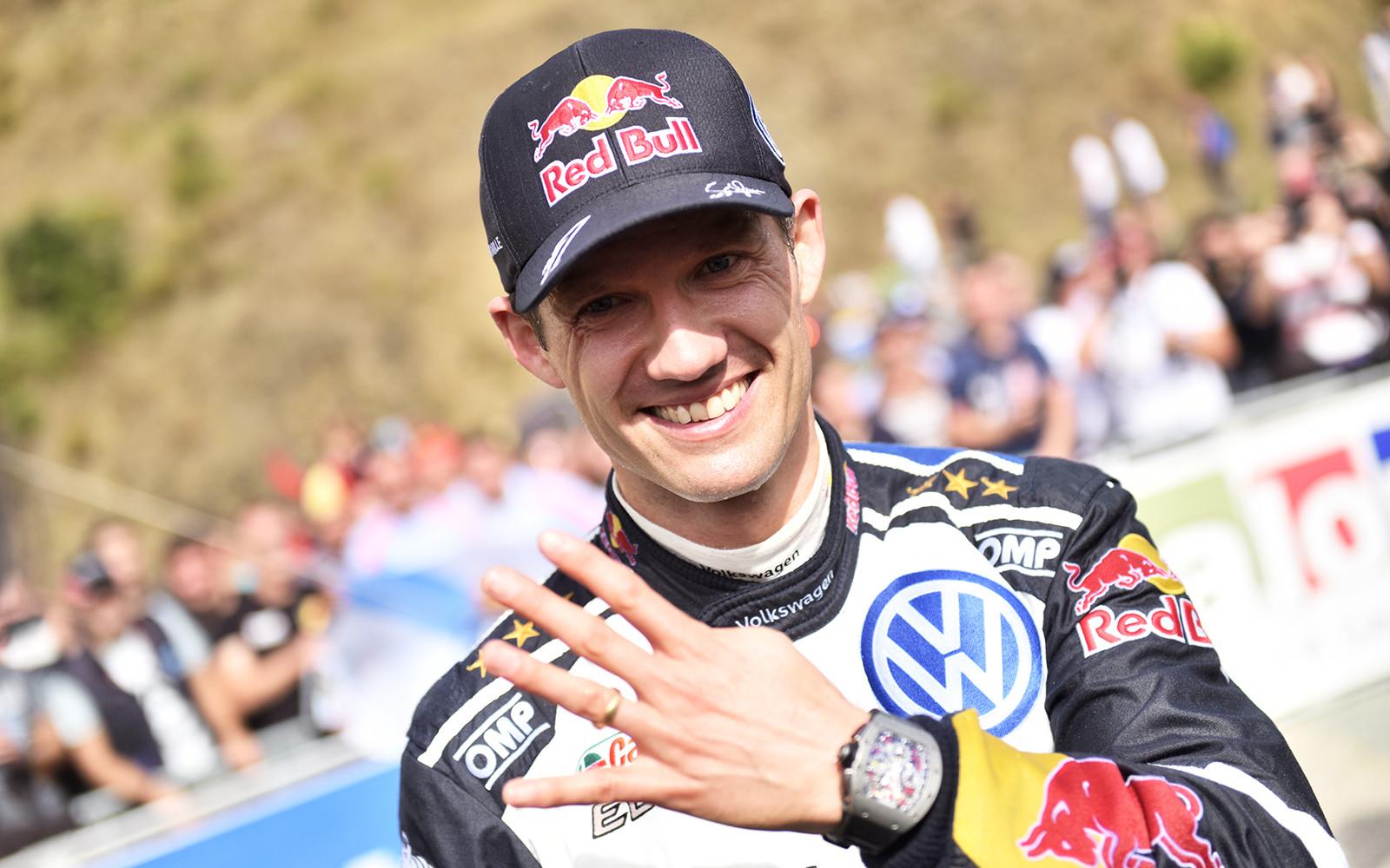WRC. Ожье подписал договор с«М-Спорт»