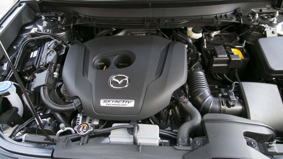 Турбомотор Skyactiv объемом 2.5 литра под капотом Mazda CX-9