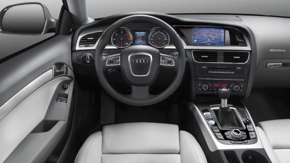 На фото: Торпедо Audi A5 3.0 TDI quattro Coupé '2007–11