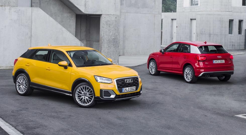 На фото: Audi Q2