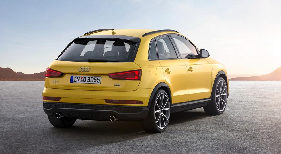 На фото: Audi Q3 текущего поколения