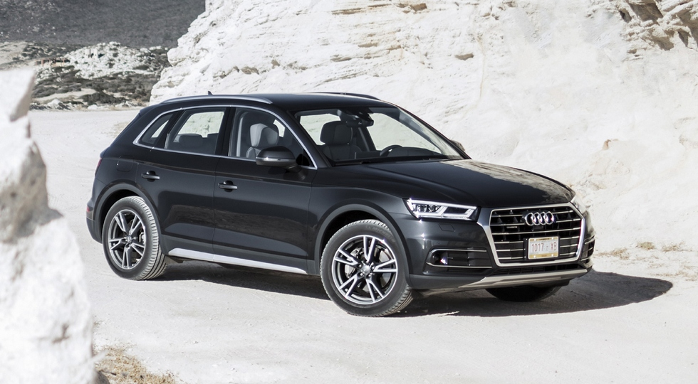 На фото: Audi Q5 нового поколения