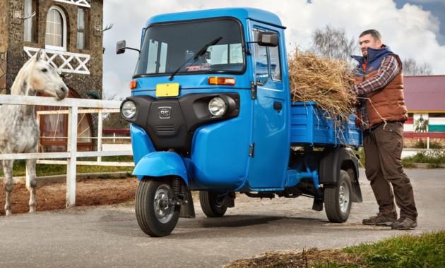 Грузовой трицикл изИндии собираются торговать на русском рынке