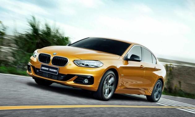ВКитайской республике началось производство седана БМВ 1-Series