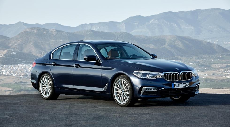 На фото: BMW 5 Series нового поколения