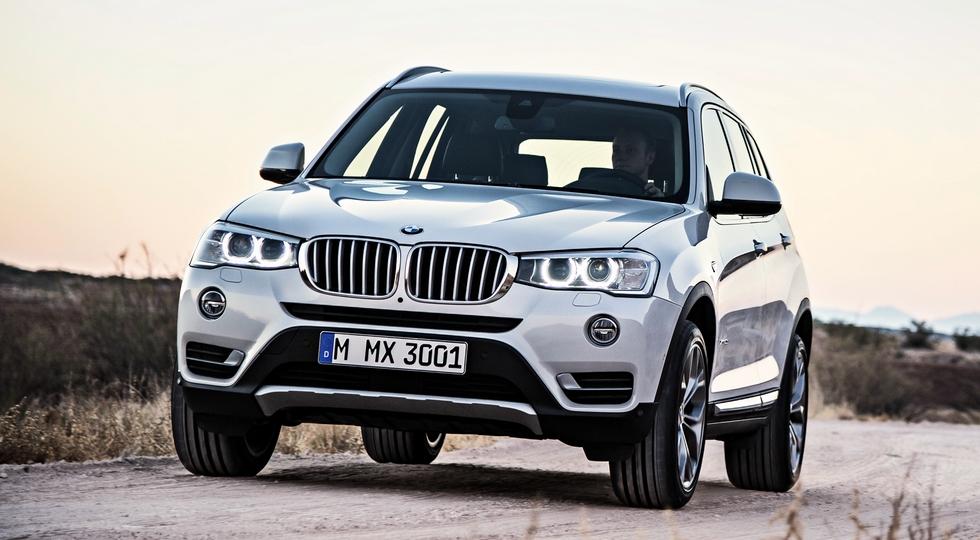 На фото: BMW X3 текущей генерации