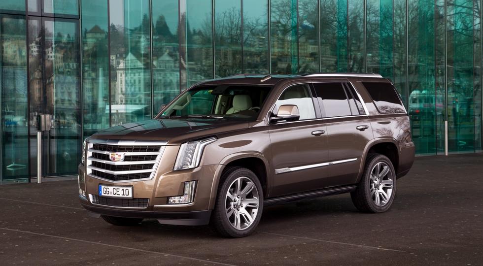 На фото: Cadillac Escalade