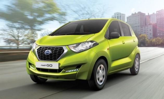 Индийский бюджетник Datsun redi-GO получил патент в РФ