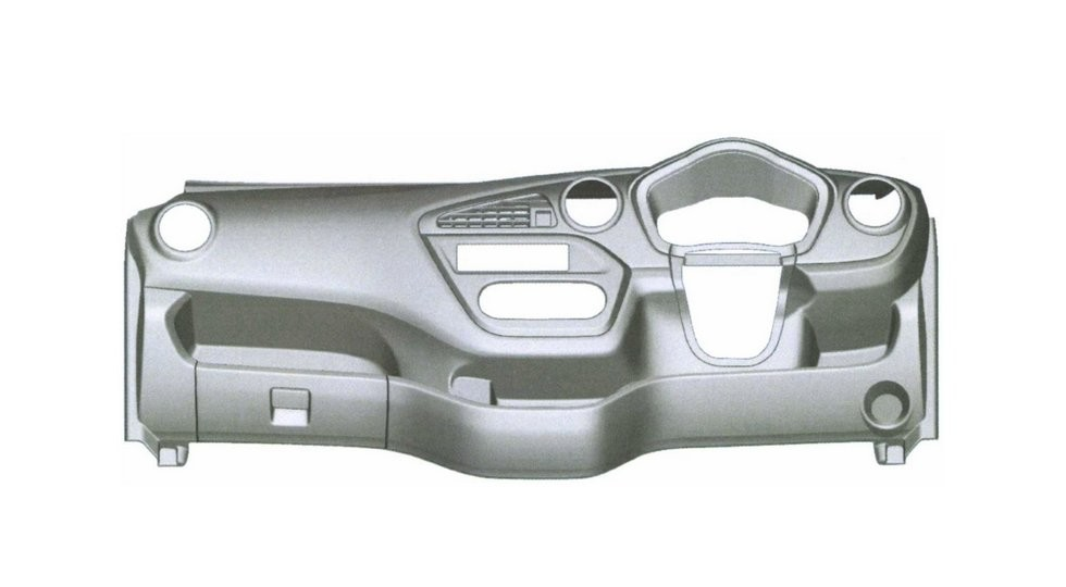 В РФ запатентован дизайн компактвэна Datsun Redi-Go