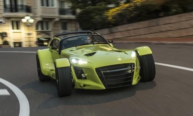 Donkervoort D8 GTO-RS— самый экстремальный спорткар изГолландии