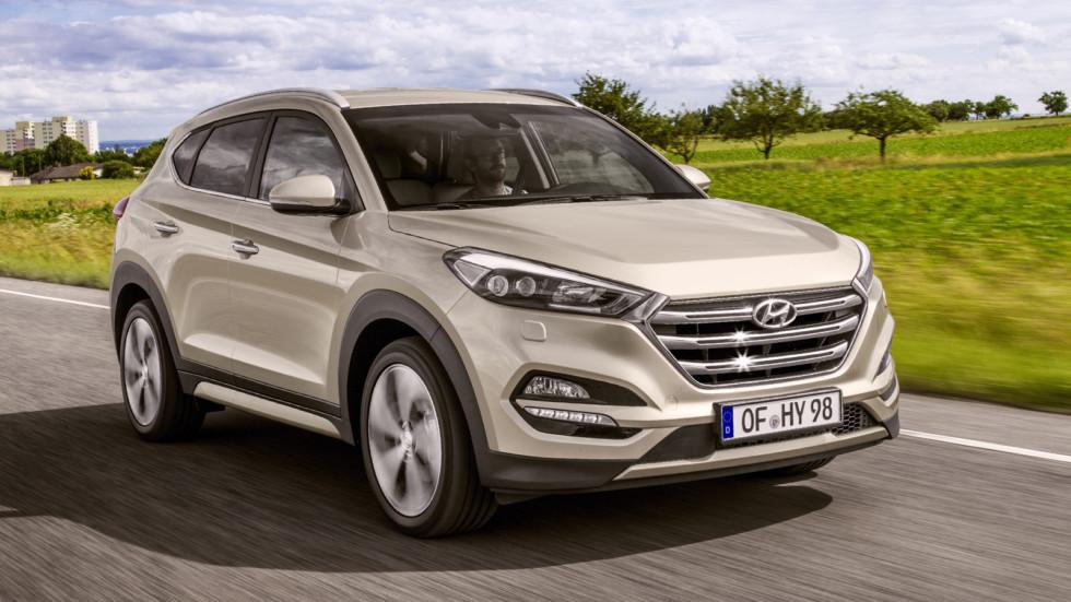 На фото: Hyundai Tucson. Цена - от 1 505 900 рублей