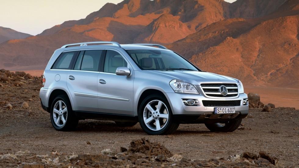На фото: Mercedes-Benz GL 420 CDI (X164) '2006–09