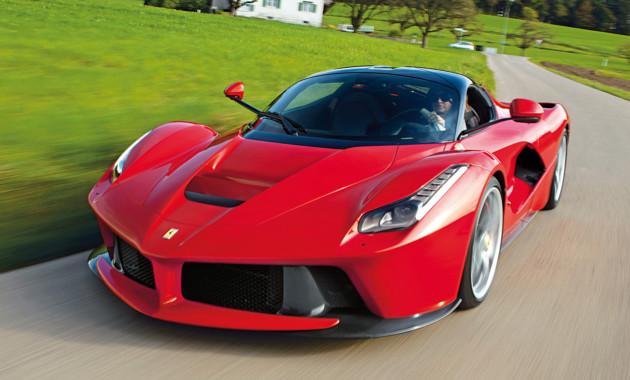 Феррари продала саукциона новый суперкар зарекордную сумму— семь млн. долларов