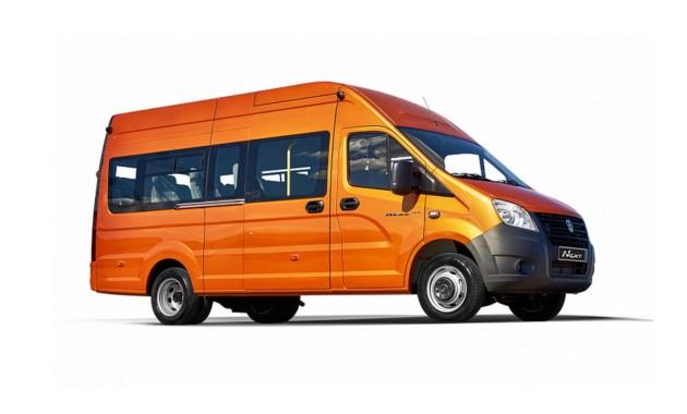 В России стартовали продажи нового микроавтобуса ГАЗель Next
