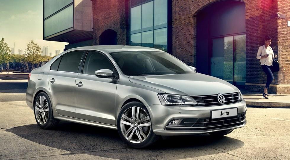 На фото: Volkswagen Jetta