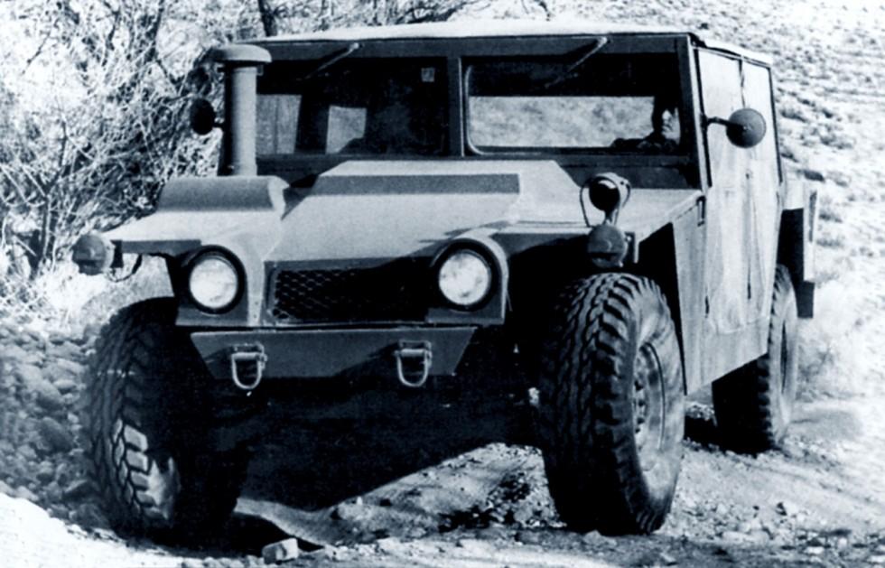 Пробный небронированный 160-сильный автомобиль ХМ998. 1981 год