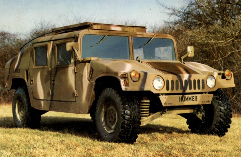 Окончательный предсерийный вариант автомобиля HMMWV M998. 1984 год