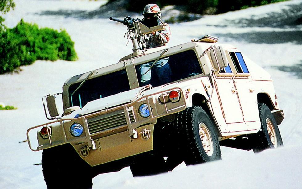 Опытный боевой автомобиль XM1097, возглавивший второе поколение