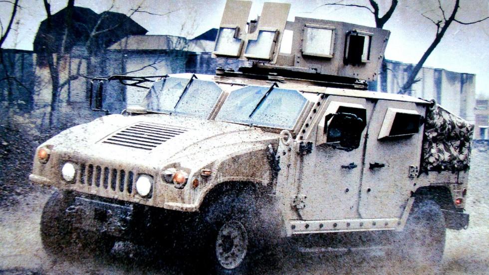 Массивная 300-сильная модель MLTV — неудачная попытка создать новый Humvee