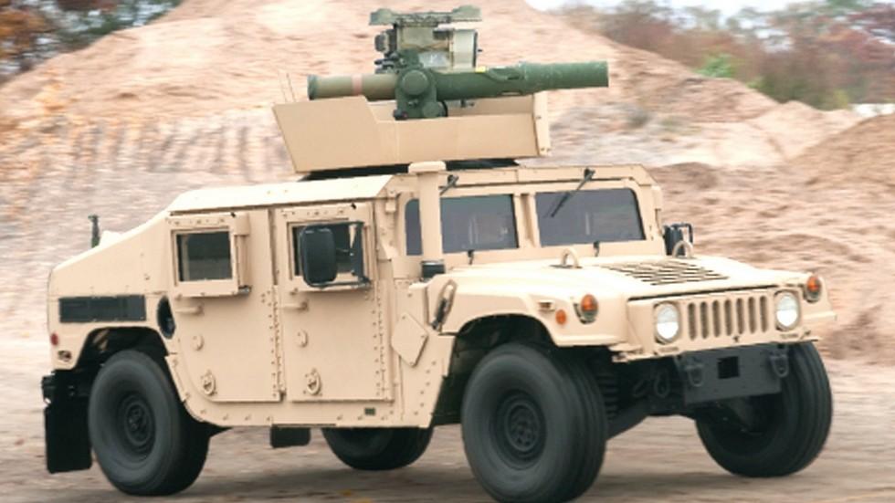 Тяжелый бронетранспортер вооружения M1167 с ракетным комплексом TOW