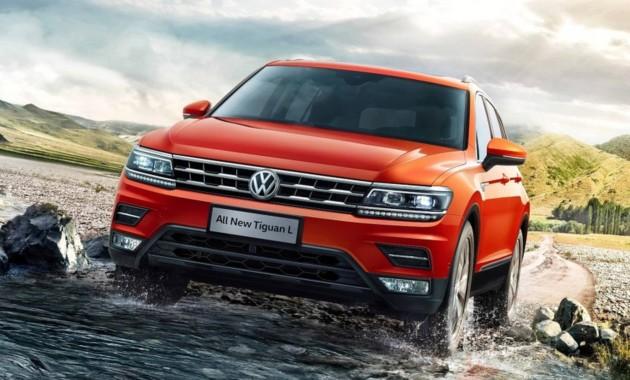 Объявлена стоимость «растянутого» кроссовера VW Tiguan L