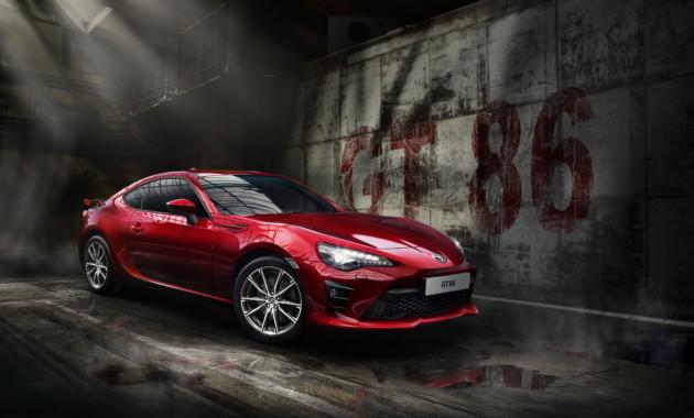 В 2019г Тойота выпустит обновлённый спорткарGT 86
